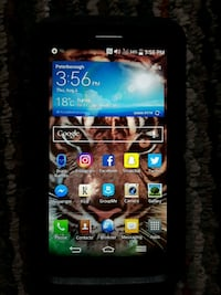 LG CELL PHONE - with  ROGERS