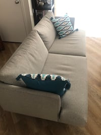 Couch - 16 Months Old -Classy Mid Century Design Duck Feather Down (delivery included) Somerville, 02143