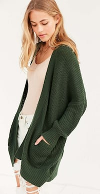 New with Tags Urban Outfitters Dark Green Cardigan Johnson City, 37604