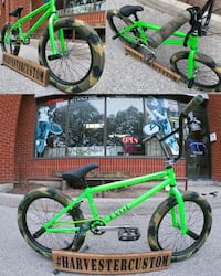 BRAND NEW Radio Evol BMX with Camo Kit