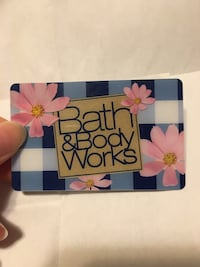 Bath and body works gift card $150  Toronto, M3H 3Z4