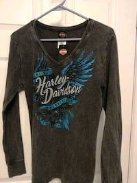 Woman's Harley waffle style cotton top . Great Christmas present! Oakville, L6H 4V1