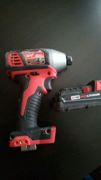 red and black Milwaukee cordless power drill Scottsdale, 85251