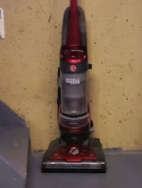 black and red upright vacuum cleaner Edmonton, T6L 4R3
