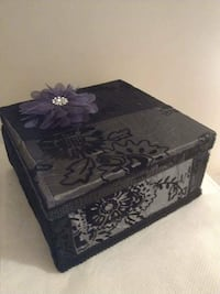 gray and black wooden box Surrey