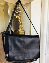 black leather 2-way bag Fremont, 94536