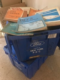 Huge Lot of Ford original car and truck shop manuals 1960's to 1980's Olney, 20832