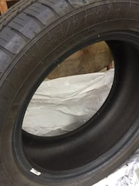 black car tire with black rim null