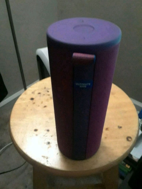 PURPLE MEGABOOM 3 With charger and wall adapter