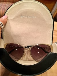 Almost new BVLGARI brand sunglasses.  Bought them for $350, wore a few times.