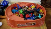 Beyblade stadium including lots of beyblades Dunn Loring, 22027