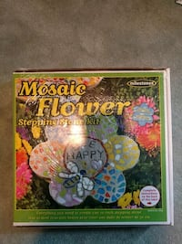 Mosaic Flower Stepping Stone Rockville, 20855