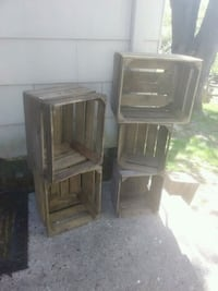 5 antique wood Apple crates Westminster, 21157
