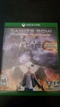 Xbox one Saint Row 4 and Gat out of Hell San Marcos, 78666