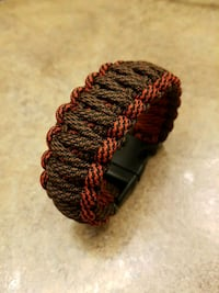 Double Madmax style paracord bracelet  Airdrie, T4B 0E1