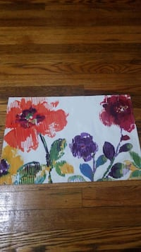 2 fabric placemats