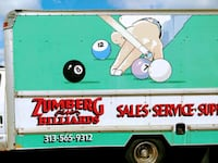 repair pool tables and pool sticks.   Call  [TL_HIDDEN]  Dearborn Heights