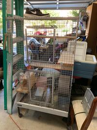 white and black pet cage Temecula, 92592