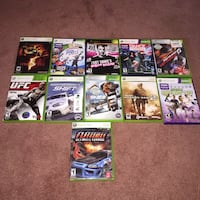 Xbox 360 with  Controllers, games and kinect Stephens City, 22655