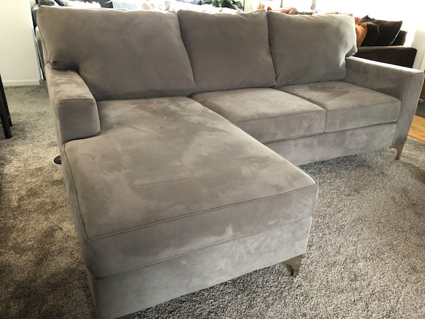 Wondrous Slate Gray Macys High End Sectional Movable Chaise Lamtechconsult Wood Chair Design Ideas Lamtechconsultcom