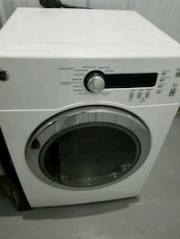 white Samsung front-load clothes washer Gaithersburg, 20877