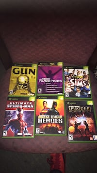 6 xbox games Woonsocket, 02895