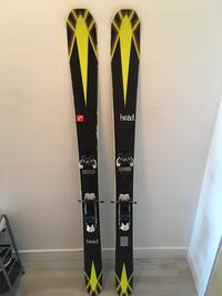 Head cyclic 115 and Collective 105 free ride skis urgent sale Burnaby, V5C 2K9