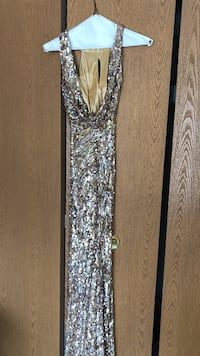 silver-sequined sleeveless dress Wixom, 48393