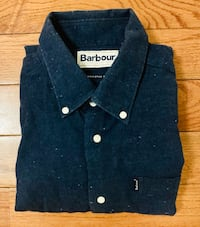 Barbour Flannel Button Down Shirt-SZ: Small Washington, 20032