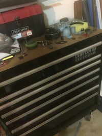 black and gray Craftsman tool chest Kissimmee, 34741