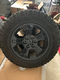 OEM Chevy wheels/ wrangler duratrek tires City of Manassas, 20111