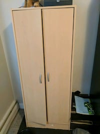 brown wooden 2-door cabinet Edmonton, T6L 5R9