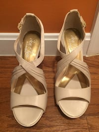 "Wedding shoes size 8 1/2"" heels 4"" Lorton, 22079"