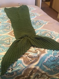Women's green knitted mermaid skirt Fort Smith, 72903