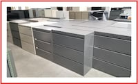 3 DRAWER LATERAL FILE CABINETS FOR SALE  * * key/delivery 2234 mi