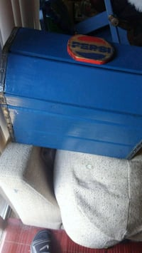 blue and black plastic container Greene County, 45305