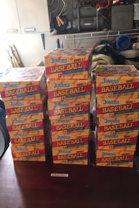 16 wax.boxes 1991 Donruss series 1 Chantilly, 20151