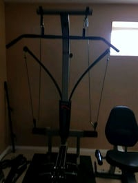black and blue exercise equipment Langdon, T0J 1X2