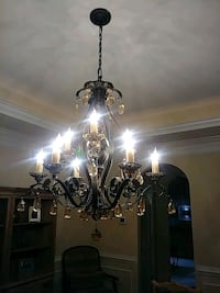 Gorgeous French Rococo 9 arm chandelier! Lovettsville, 20180