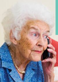 Stop yelling at grandma!  This phone is perfect for hard or hearing. Large buttons and very easy to use Coral Springs, 33065