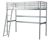 IKEA white loft bed (Full/Double) Kendall West, 33193