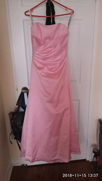 women's pink strapless bridesmaid dress Toronto, M2J
