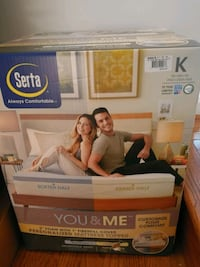 Brand new Serta you and me mattress topper Wilmington, 19808