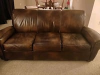 3+1 leather sofa