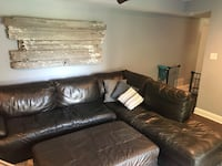 Leather couch Manalapan, 07726