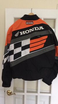 Honda racing jackst w insert to protect the back and arms back optomal ventilation new NEW Leesburg, 20176