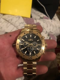 Invicta 50mm gold/black Oslo, 0355