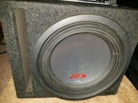 12 inch type R Alpine sub, with 1000 watt amp Mound House, 89706