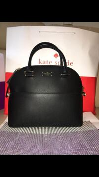 BNWT Authentic Kate Spade  Black Leather Purse with long strap  Oshawa, L1K 0K7