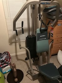 Gray and black marcy gym equipment Conyers, 30094